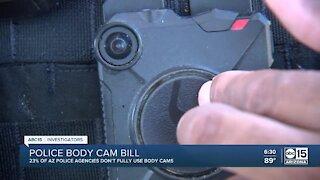 Which AZ police agencies use body cameras?