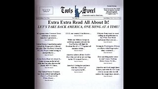 """'EXTRA EXTRA - READ ALL ABOUT IT"""" BY TOOTS SWEET"""