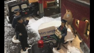Election Fraud in the Christmas Village - 2020 Style