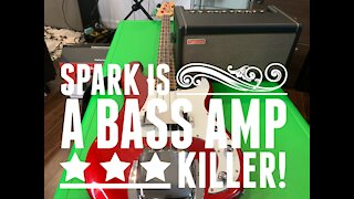 Spark on Bass Guitar Demo