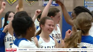 BCHS girls basketball wins first SoCal regional title with dominant performance by Dami Sule