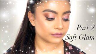 EVERYDAY SIMPLE MAKEUP INTO SOFT PARTY GLAM   Makeup tutorial   Shahenamua