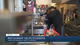 Osage Cafe helps young adults learn about culinary industry