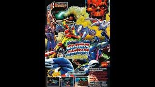 Captain America And The Avengers Sega Mega Drive Genesis Review