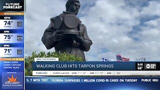 Walking Club: Trying out the Great Tarpon Springs Reindeer Hunt