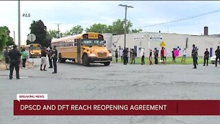 DPSCD and teachers union reach reopening agreement