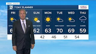 Noon Weather Forecast 10-15-21
