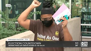 Arizona voters cast their ballots ahead of Election Day