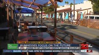 California businesses having to get creative despite vaccine rollout