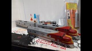 Santa Fe Life like proto 2000 EMD E6 Ho scale Project update 4