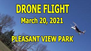 Drone Flight March 20, 2021 - Pleasant View Park