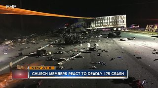 5 children in church group headed to Disney among 7 killed in fiery crash on I-75 near Gainesville