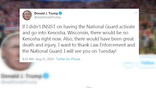 Kenosha prepares for visit from President Trump
