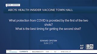 Vaccine Town Hall: Answering your questions