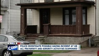 Buffalo Police investigating potential hazing incident at UB