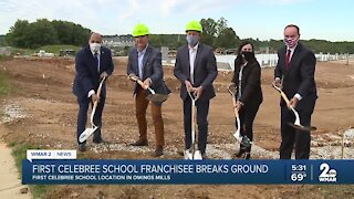 First Celebree School franchisee breaks ground