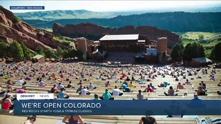 Yoga on the Rocks starts today at Red Rocks