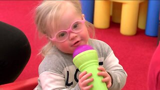 Music class provides therapy for children with vision loss