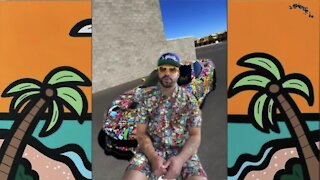 Shout-out on Jimmy Kimmel launches career of Arizona artist