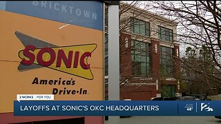 Layoffs announced at Sonic's Oklahoma City headquarters