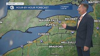 7 First Alert Forecast 5am Update, Wednesday, June 23