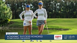 Lynn University Women's Golf players honored for academic success
