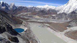 Study Says Glacial Lakes Grew 50% As Climate Change Shrinks Glaciers