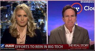 The Real Story - OANN Big Tech Censoring Religion with Jeff Brain