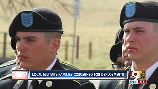 Local military families concerned about deployment