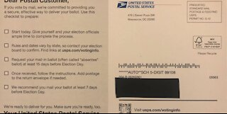 NV Election officials report 'checklist confusion' over postcards from USPS about mail-in voting