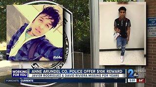 $10,000 reward offered for missing teens