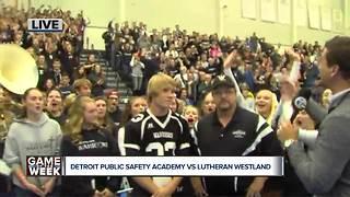 Detroit Public Safety Academy Vs. Lutheran Westland