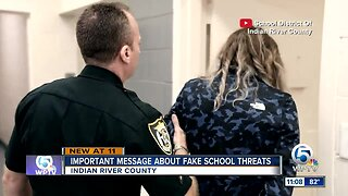 Indian River County Schools issue important message about fake school threats