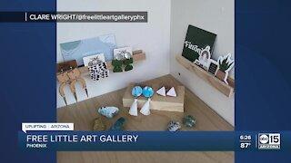 Free little art gallery in Phoenix's Coronado neighborhood