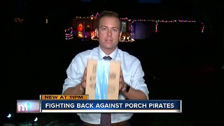 Riverview mother pranks porch pirate with phony package