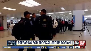 Preparing for Tropical Storm Dorian