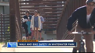 Whitewater Park neighborhood residents voice pedestrian safety concerns at ACHD Open House