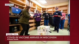 UW-Health receives first shipment of Pfizer COVID-19 vaccine