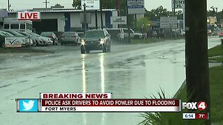 Flash flood in Fort Myers