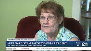 Gift card scam targets Vinita resident