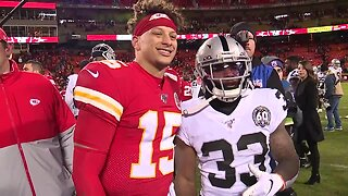New Chiefs running back reconnects with Mahomes in KC