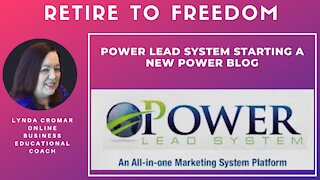 Power Lead System Starting A New Power Blog