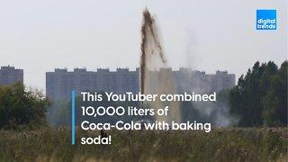 Coca-Cola Geyser!