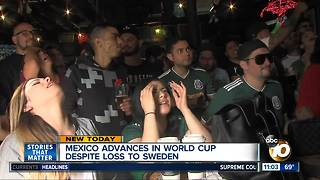 Mexico advances in World Cup