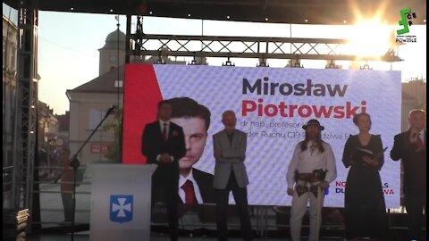 Grzegorz Braun - Konwencja Wyborcza - wiec poparcia dla Kandydata na Prezydenta Rzeszowa 08.06.2021