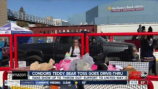 Condors ring in 2,000 teddy bears for the annual donation event