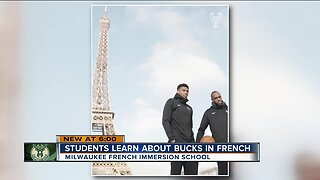 Students learn about Bucks in French