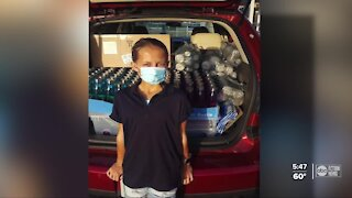 Local student raises money to help students during pandemic