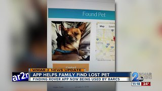 App reunites family with lost dog