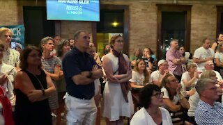 Dozens attend watch party for Neenah-raised rower Maddie Wanamaker in her first Olympics